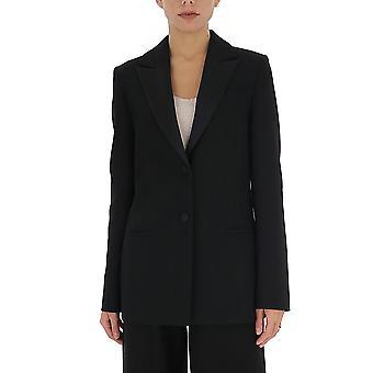Victoria Beckham 2120wjk000845 Women's Black Polyester Blazer