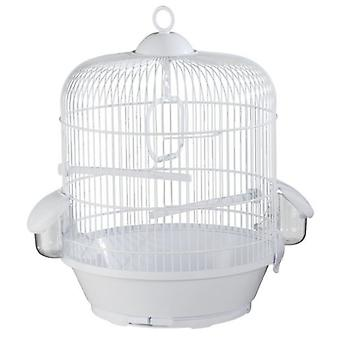Voltrega White Bird Cage 716 31.5 X 40 (Birds , Cages and aviaries , Cages)