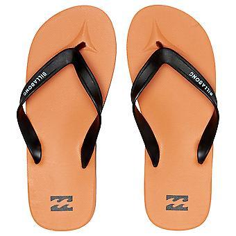 Billabong Water Resistant Mens Sandals ~ All Day orange