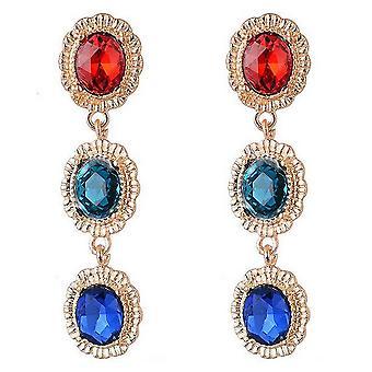 Sparkle Womens/Ladies Gem Drop Earrings