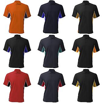 Gamegear® Mens Track Pique Short Sleeve Polo Shirt Top