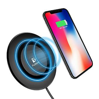Floveme 5w intelligent qi wireless charger charging charger for iphone x 8/8plus sasmung s8