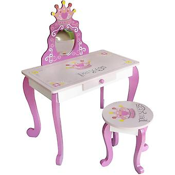 Kiddi Style Princess Dressing Table And Stool