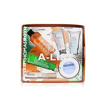 Peter Thomas Roth A-listan 6-bit Bestseller Kit: Cleansing Gel 57ml + peeling Gel 15ml + gurka Gel Mask 30ml + korrigering Kuddar 20st + serum 10ml + återfuktande Moisturizer