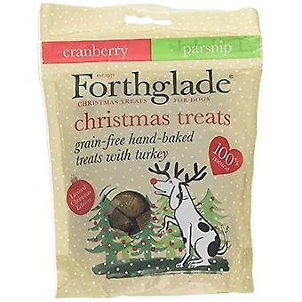 Forthglade Grain Free Turkey And Cranberry Christmas Dog Treats (7 Packs)