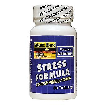 Nature's blend stress formula, tablets, 60 ea