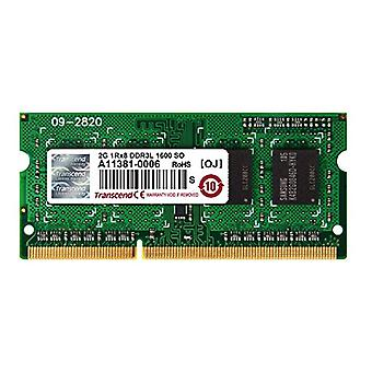 Transcend 2Gb DDR3-1600 mémoire 1600 MHz
