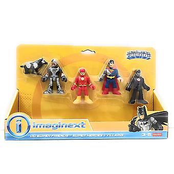 Imaginext DC Super Friends Super Heroes & Villains Figures