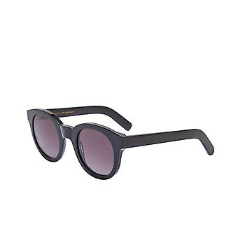 Monokel Eyewear Shiro Black Gradient Grey Lens Sunglasses