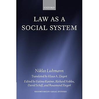 Loven som et sosialt System (Oxford Socio-legal Studies)