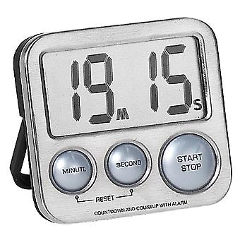 Atlanta 240/19 Short TimePiece Digital Metal com Magnet Kitchen Timer