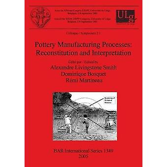 Pottery Manufacturing Processes Reconstitution and Interpretation by Livingstone Smith & Alexandre