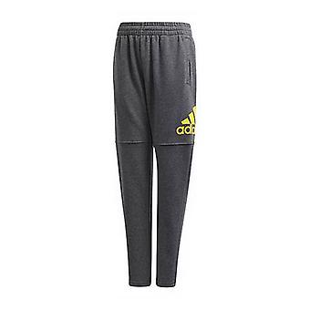 Children's Tracksuit Bottoms Adidas YB Logo/14-16 Years
