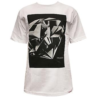 Diamond Supply Co Diamond Cut T-shirt White