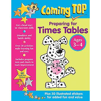 Coming Top - Preparing for Times Tables - Ages 3-4 - 60 Gold Star Stick