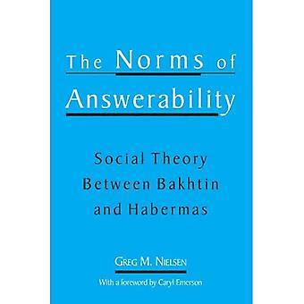 Die Normen der Verantwortung: Sozialtheorie Bachtin bis Habermas