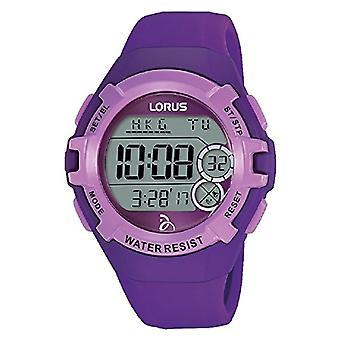 Lorus Unisex dospělí digitální hodiny se silikonovým páskem R2395LX9