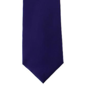 מייקלסון של לונדון פשוט פלוסטר עניבה-סגול