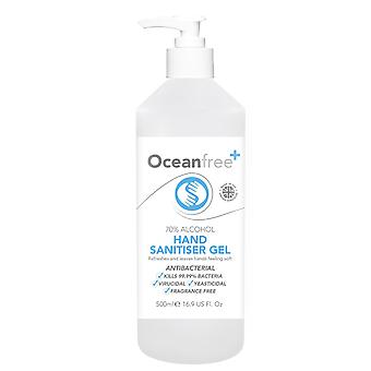 70% Alcohol Hand Sanitiser Gel - 6x 500ml Pump Bottle - Certified Surgical / Medical Grade - Made in the UK