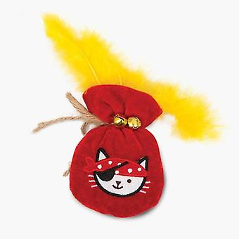Catit Piratas Bolsa de Oro (Cats , Toys , Plush & Feather Toys)