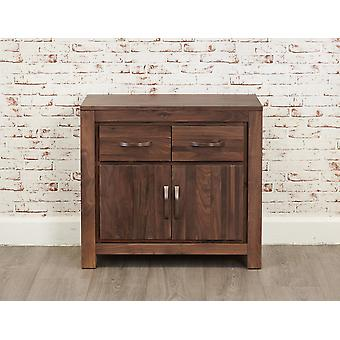 Mayan Walnut Small Sideboard Brown - Baumhaus