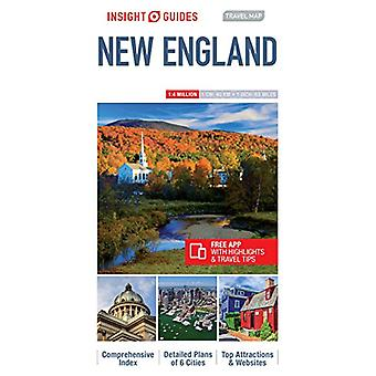 Insight Guides Travel Map New England by Insight Guides - 97817891993