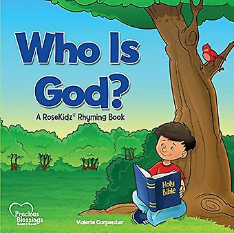 Kidz - Who Is God? Board Book by Valerie Carpenter - 9781628628333 Book