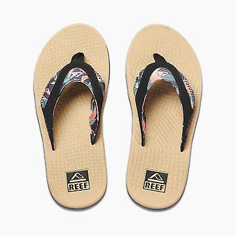 Reef Womens Sandaler med flasköppnare ~ Fanning hibiskus