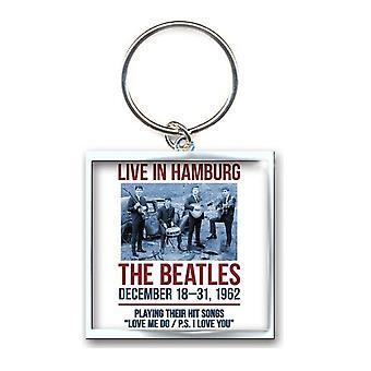 The Beatles Keyring Keychain 1962 Hamburg poster new Officia