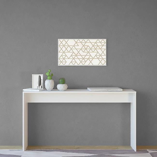 Stockholm Color White console en Melaminic Chip 140x30x75 cm