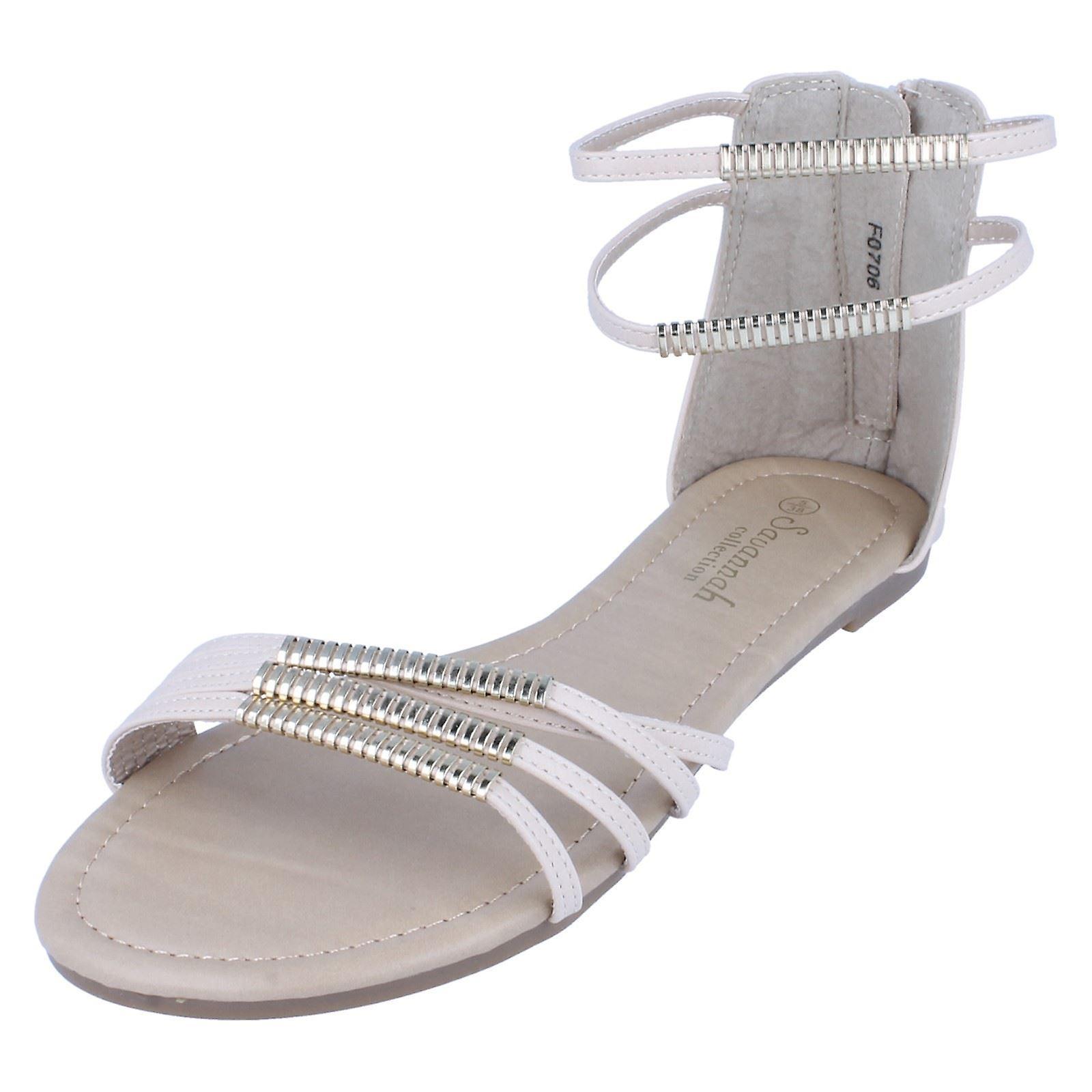 Sandały damskie Savannah kostki pasek EoMt8