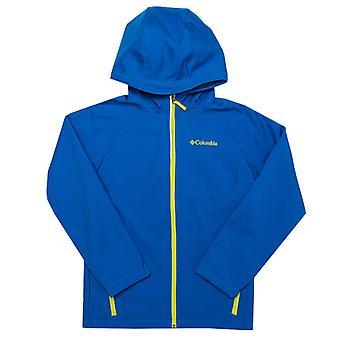 Boy's Columbia Junior Cascade Ridge Softshell Jacket in Blue