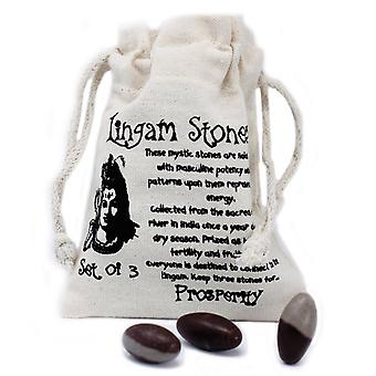 Lingam Stones 1 Inch x 3 in Pouch