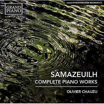 Samazeuilh / Chauzu, Olivier - Nocturne / Suite in G / Chanson a Ma Poupee [CD] USA import