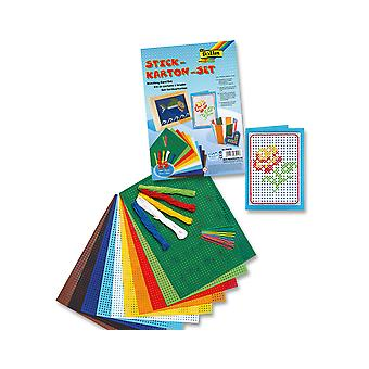 25 Piece Embroidery Cross Stitch Kids Craft Set | Sewing for Kids