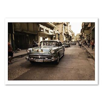 Art-Poster - Old Havana Street - Alper Uke 50 x 70 cm