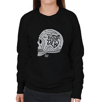 Berg dauw doen de dauw schedel vrouwen ' s Sweatshirt