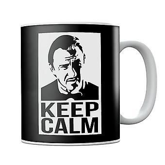Mantenere calma chiamata Mr Wolf Pulp Fiction Mug