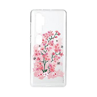 Hull For Xiaomi Mi Note 10 Soft Cherry Blossoms