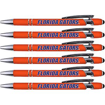 Greeting Pen Floride Soft Touch Coated Metal 6 Pen Pack 30526