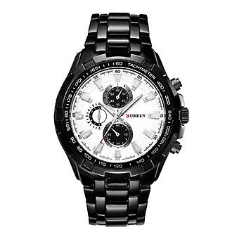 Curren Steel Watch for Men - Leather Strap Anologue Luxury Movement for Men Quartz - Copy - Copy