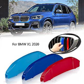 BMW X1 2020 Clip In Grill M Power Kidney Stripes Cover
