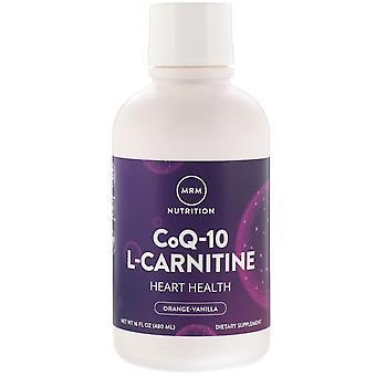 MRM, CoQ-10 L-Carnitine, Orange-Vanilla, 16 fl oz (480 ml)