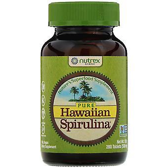 Nutrex Hawaii, Pure Hawaiian Spirulina, 500 mg, 200 Tablets