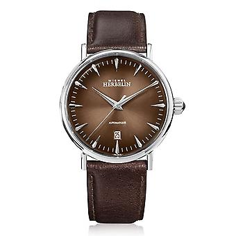 Michel Herbelin 1647-AP27 Men's Inspiration Automatic Brown Dial Wristwatch