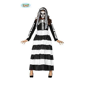 Noiva fantasia esqueleto senhoras fantasia esqueleto adultos