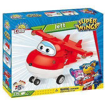 Cobi Super Wings Jett Airplane Kids Blocks Bricks 170Pc Compatible Age 5+