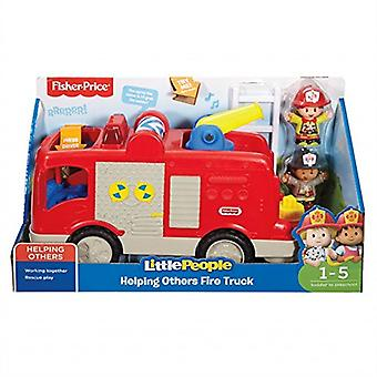 Fisher-Price 900 Fpv29 Helping Others Fire Truck Toy
