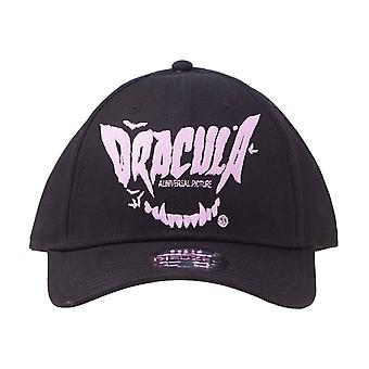 Dracula Baseball Cap Fangs Movie Logo nieuwe Officiële Black Strapback