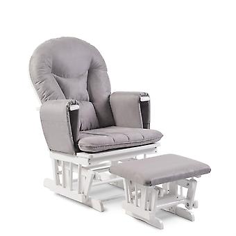 Babyhoot Alford Glider Chair and Stool
